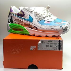 Nike Air Max 90 Ruohan Wang Flyleather Men Size 10